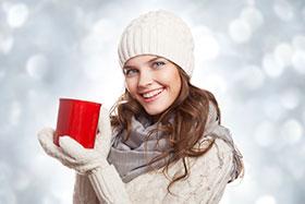 hidratarse en invierno-mujer